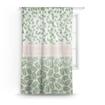 Tropical Leaves Sheer Curtains (Personalized)