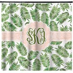 Tropical Leaves Shower Curtain (Personalized)