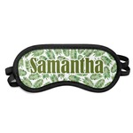 Tropical Leaves Sleeping Eye Mask (Personalized)