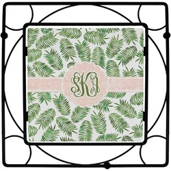 Tropical Leaves Trivet (Personalized)