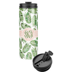 Tropical Leaves Stainless Steel Tumbler (Personalized)