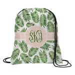 Tropical Leaves Drawstring Backpack (Personalized)