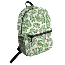 Tropical Leaves Student Backpack (Personalized)