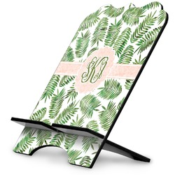 Tropical Leaves Stylized Tablet Stand (Personalized)
