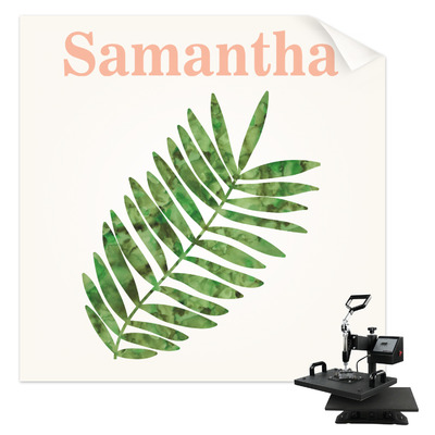 Tropical Leaves Sublimation Transfer (Personalized)