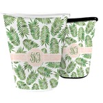 Tropical Leaves Waste Basket (Personalized)