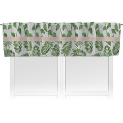 Tropical Leaves Valance (Personalized)