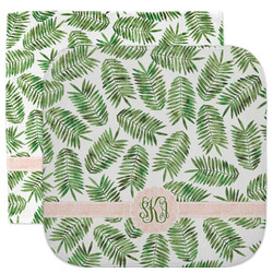 Tropical Leaves Facecloth / Wash Cloth (Personalized)