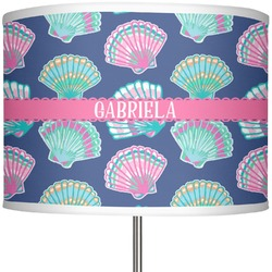"Preppy Sea Shells 13"" Drum Lamp Shade (Personalized)"