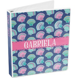 Preppy Sea Shells 3-Ring Binder (Personalized)