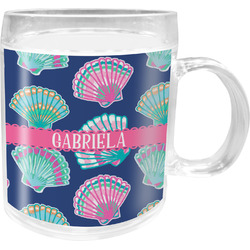 Preppy Sea Shells Acrylic Kids Mug (Personalized)