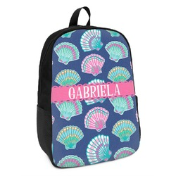 Preppy Sea Shells Kids Backpack (Personalized)