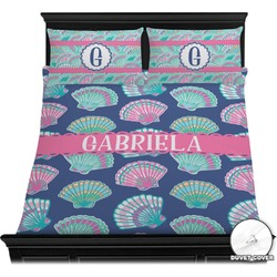 Preppy Sea Shells Duvet Covers (Personalized)
