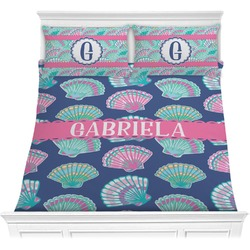 Preppy Sea Shells Comforters (Personalized)