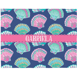Preppy Sea Shells Placemat (Fabric) (Personalized)