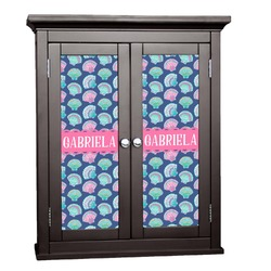 Preppy Sea Shells Cabinet Decal - Small (Personalized)