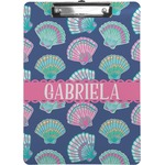 Preppy Sea Shells Clipboard (Personalized)