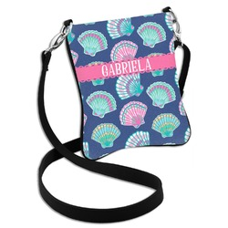 Preppy Sea Shells Cross Body Bag - 2 Sizes (Personalized)