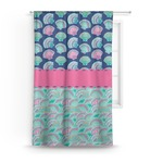 Preppy Sea Shells Curtain (Personalized)