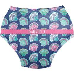 Preppy Sea Shells Diaper Cover (Personalized)