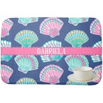 Preppy Sea Shells Dish Drying Mat (Personalized)