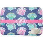 Preppy Sea Shells Dish Drying Mat (Personalized)