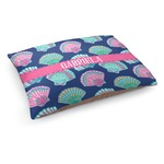 Preppy Sea Shells Dog Bed (Personalized)