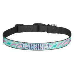 Preppy Sea Shells Dog Collar (Personalized)