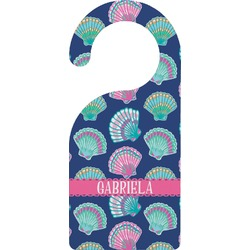 Preppy Sea Shells Door Hanger (Personalized)