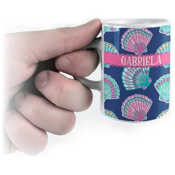 Preppy Sea Shells Espresso Mug - 3 oz (Personalized)