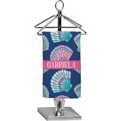 Preppy Sea Shells Finger Tip Towel - Full Print (Personalized)