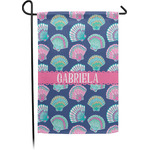 Preppy Sea Shells Garden Flag - Single or Double Sided (Personalized)
