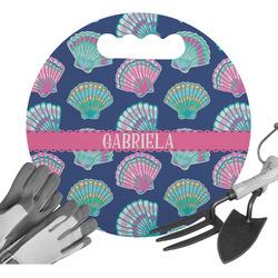 Preppy Sea Shells Gardening Knee Cushion (Personalized)