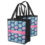 Preppy Sea Shells Grocery Bag (Personalized)