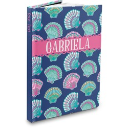 Preppy Sea Shells Hardbound Journal (Personalized)
