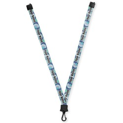 Preppy Sea Shells Lanyard (Personalized)