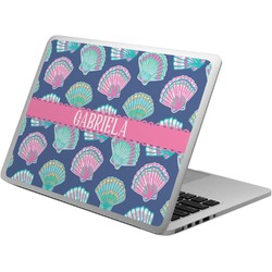Preppy Sea Shells Laptop Skin - Custom Sized (Personalized)