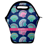 Preppy Sea Shells Lunch Bag w/ Name or Text