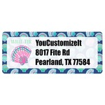 Preppy Sea Shells Return Address Labels (Personalized)