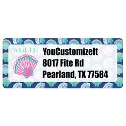 Preppy Sea Shells Return Address Labels (Personalized)