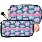 Preppy Sea Shells Makeup / Cosmetic Bag (Personalized)