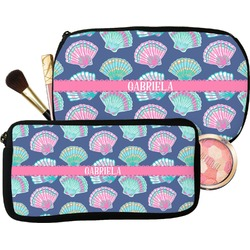 Preppy Sea Shells Makeup / Cosmetic Bag (Personalized)