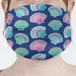 Preppy Sea Shells Face Mask Cover (Personalized)
