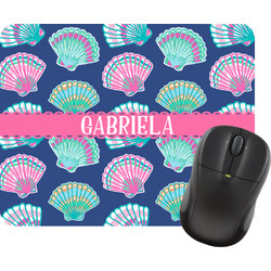 Preppy Sea Shells Mouse Pads (Personalized)