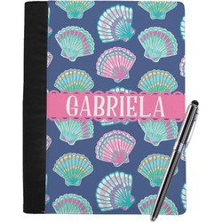 Preppy Sea Shells Notebook Padfolio (Personalized)