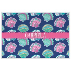 Preppy Sea Shells Placemat (Laminated) (Personalized)