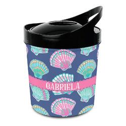 Preppy Sea Shells Plastic Ice Bucket (Personalized)