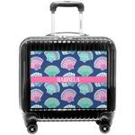 Preppy Sea Shells Pilot / Flight Suitcase (Personalized)