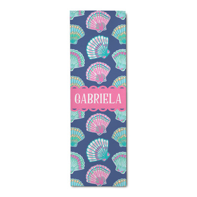 Preppy Sea Shells Runner Rug - 3.66'x8' (Personalized)