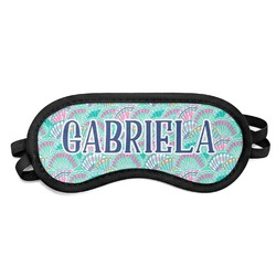 Preppy Sea Shells Sleeping Eye Mask (Personalized)
